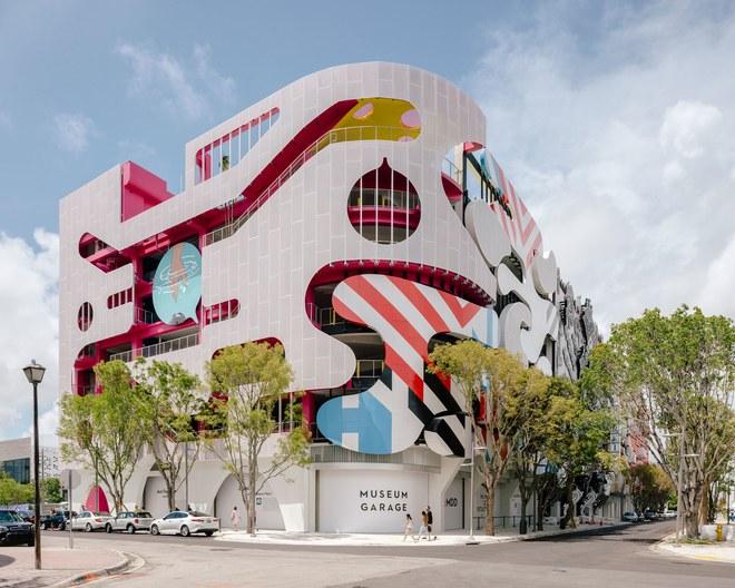 Miami Design District Parking Garage